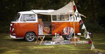 Classic VW campervan hire based in South East London