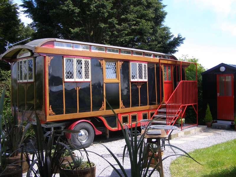 Dolly The Circus Waggon Ffynnon Fendigaid, Rhydlewis, Llandysul, Ceredigion, SA44 5SR