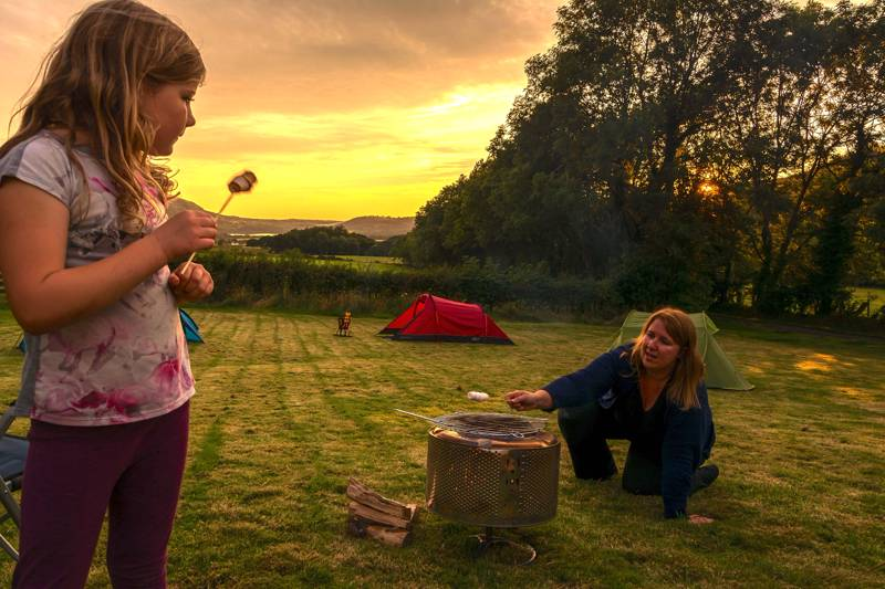 Six Top Campsites with Campfires in the Lake District