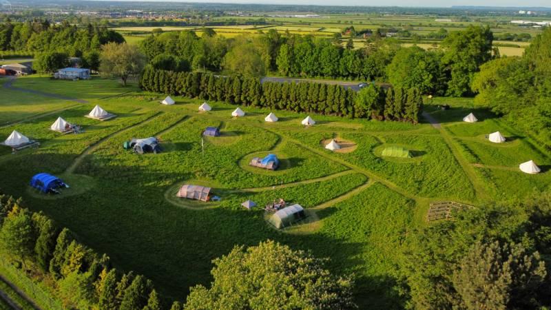 Hawarden Farm Shop Campsite