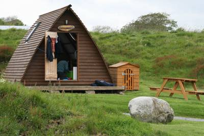 Run by affable owners Neil and Patricia, with a little help from their trusty wind turbine 'Tina Turner', Solway View is a small working farm in the kind of idyllic location that could have ambled its way off the pages of a Famous Five instalment.