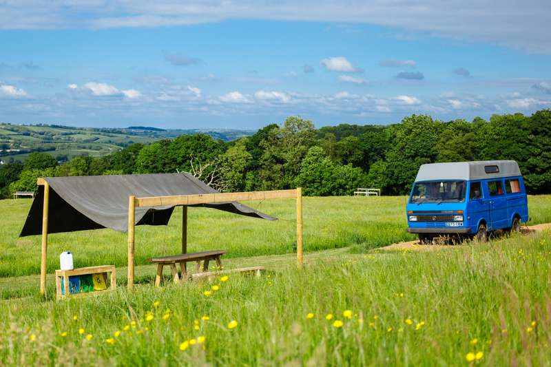 Cowpots Camping Cowpots Camping, Penback Farm, Ciffig, Whitland, Carmarthenshire SA34 0NG