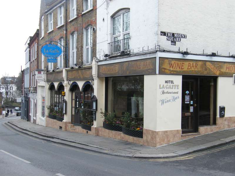 La Gaffe 107–111 Heath Street Hampstead London NW3 6SS