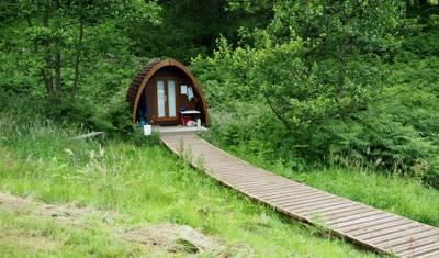 """""""Quietus"""" camping pod"""