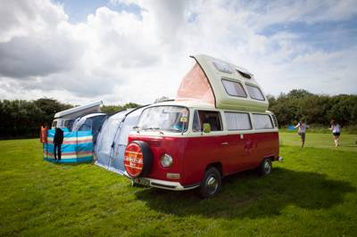 Meadow Campervan or Motorhome Pitch