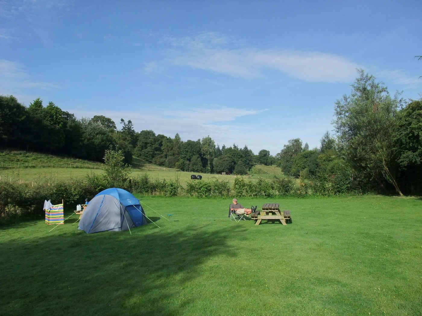 Campsites in the Welsh Borders