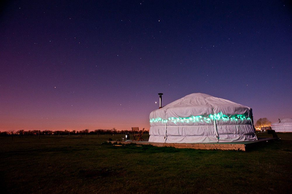 Glamping in Lincolnshire