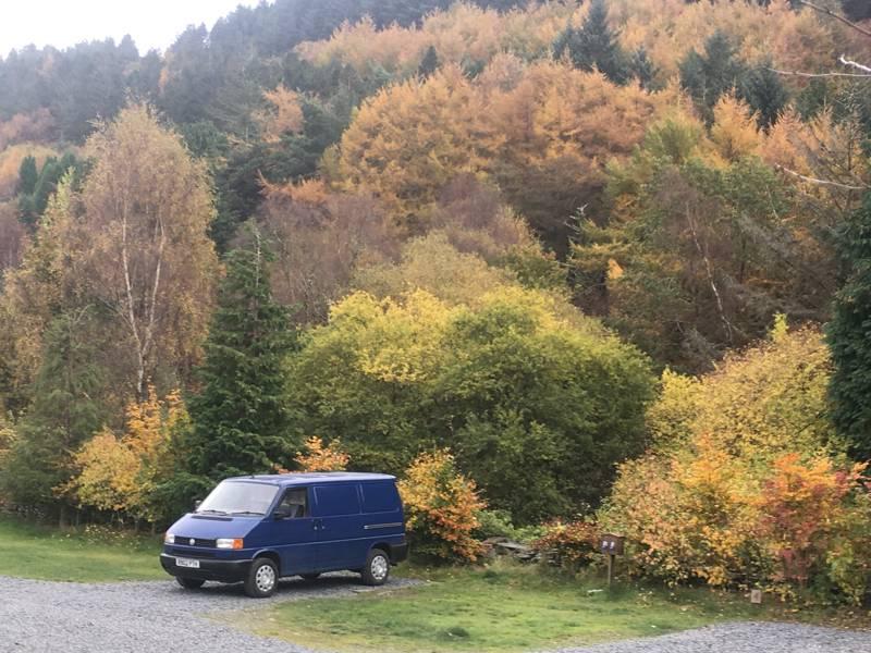 Small Camper Van pitch
