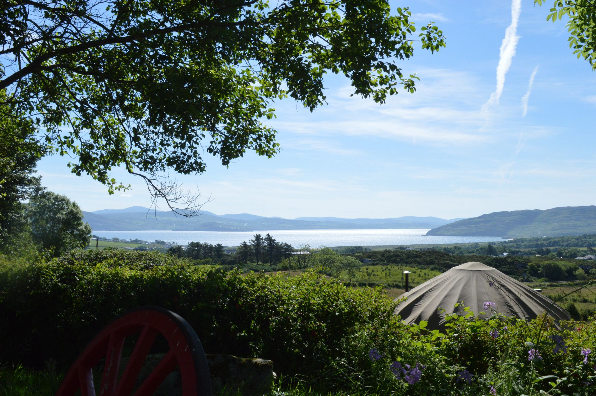 Luxury glamping in the heart of Donegal with Ireland's best beach in easy reach.