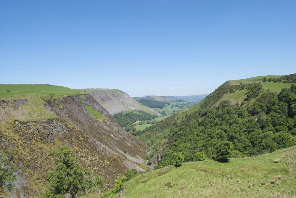 Campsites in Powys