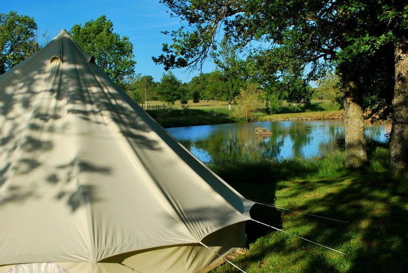 Campsites in Central France