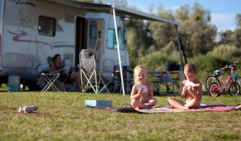 Family-friendly campsites in France