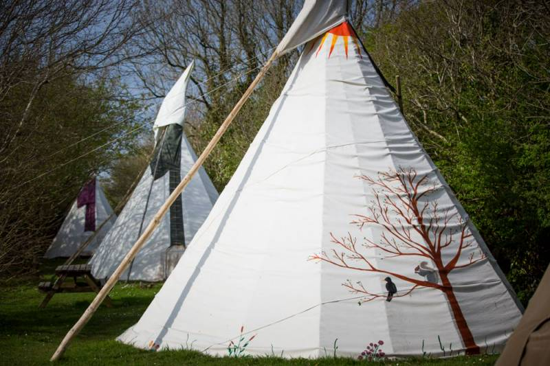 Large Tipi 10 - Village Field