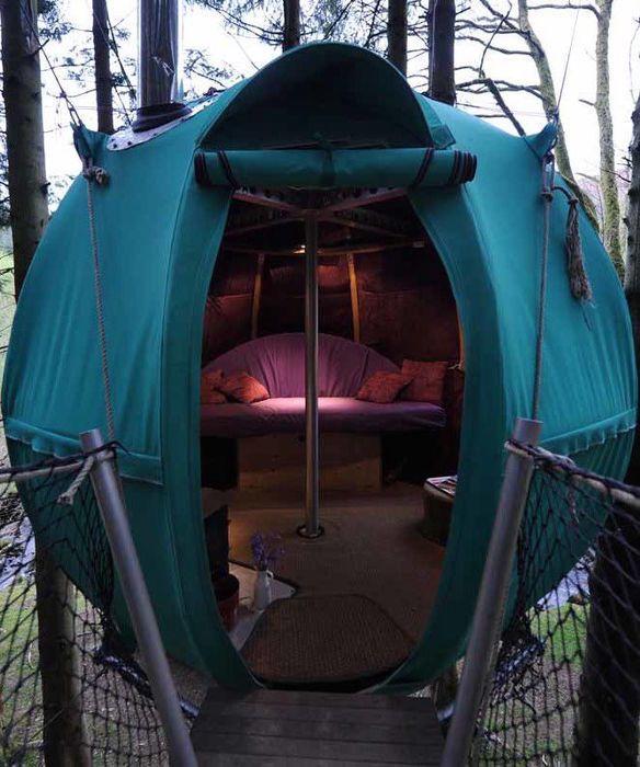 The most unique luxury campsites