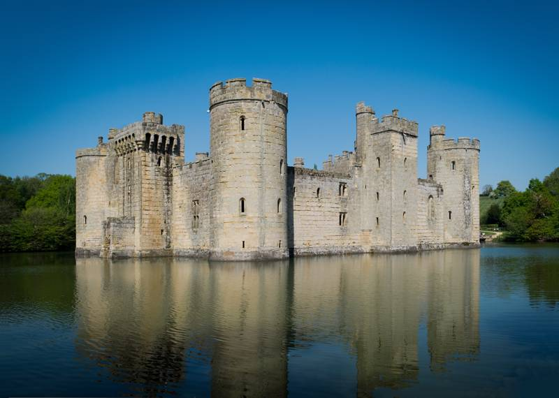 Camping near Bodiam Castle | Best campsites in Bodiam, Sussex