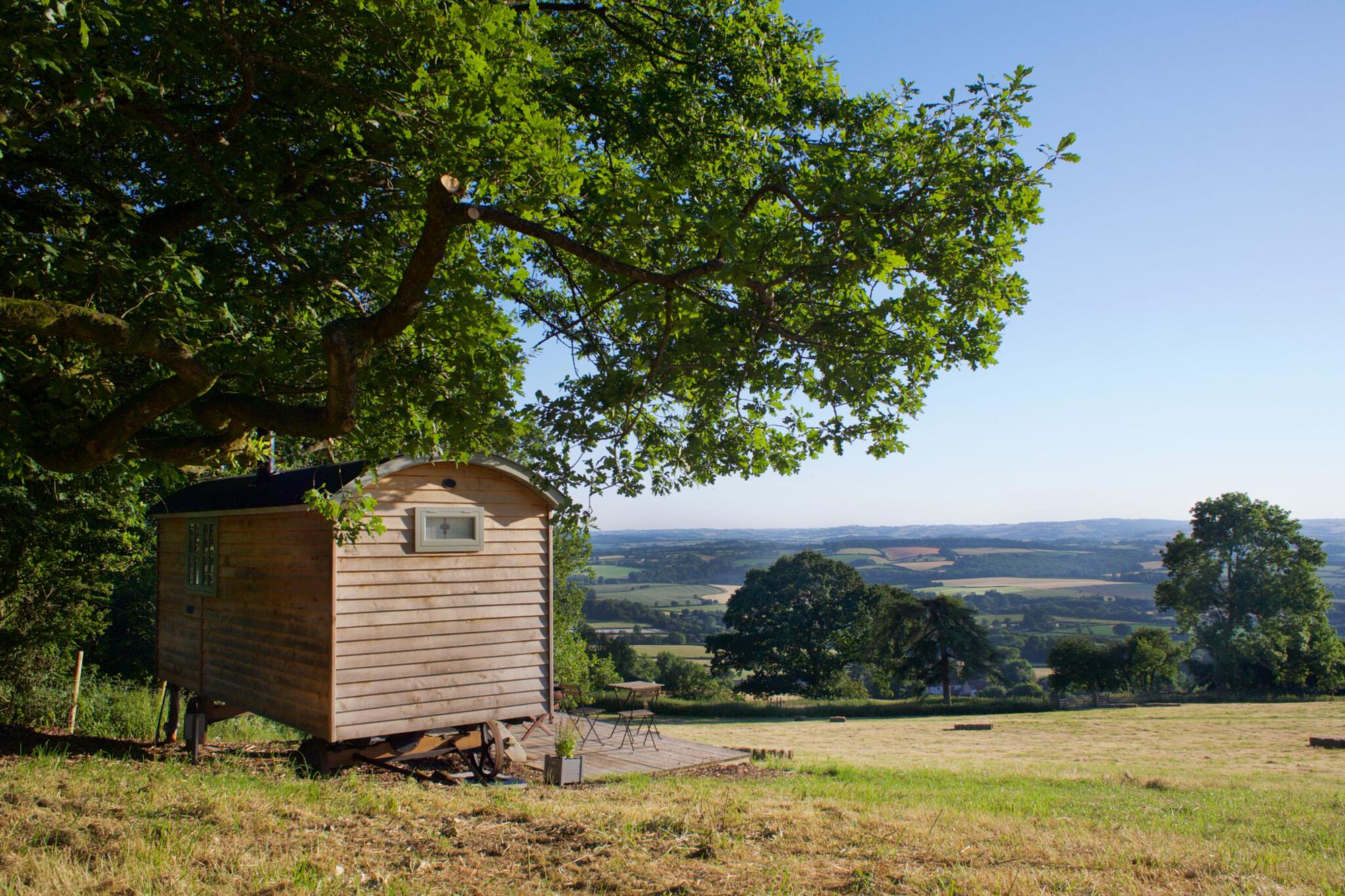 Campsites in The Quantock Hills holidays at Cool Places