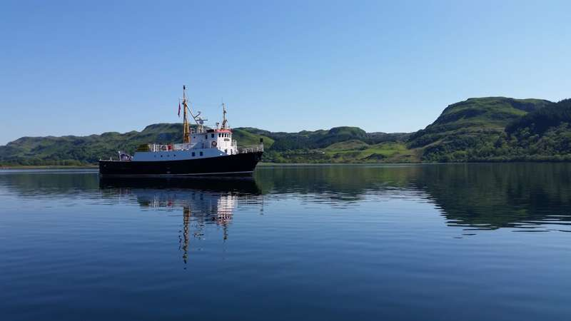 St Hilda Sea Adventures – Scottish Cruises Dunbeg Oban Argyll PA37 1PX