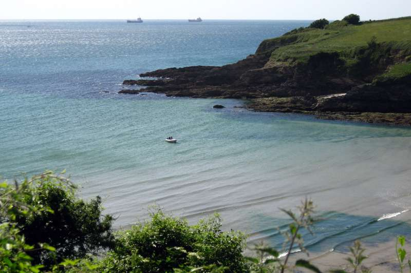 Walk from Gyllyngvase Beach to Maenporth Beach