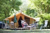 The Classic V Wood & Canvas Tent