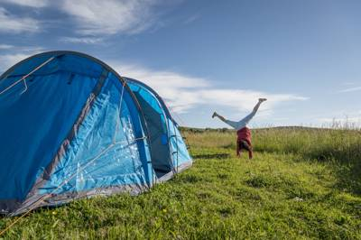 Magical, pagan woodland camping in the South Downs with campfires encouraged, excellent East Sussex pubs on the doorstep and heaps of quirky glamping options thrown in too.
