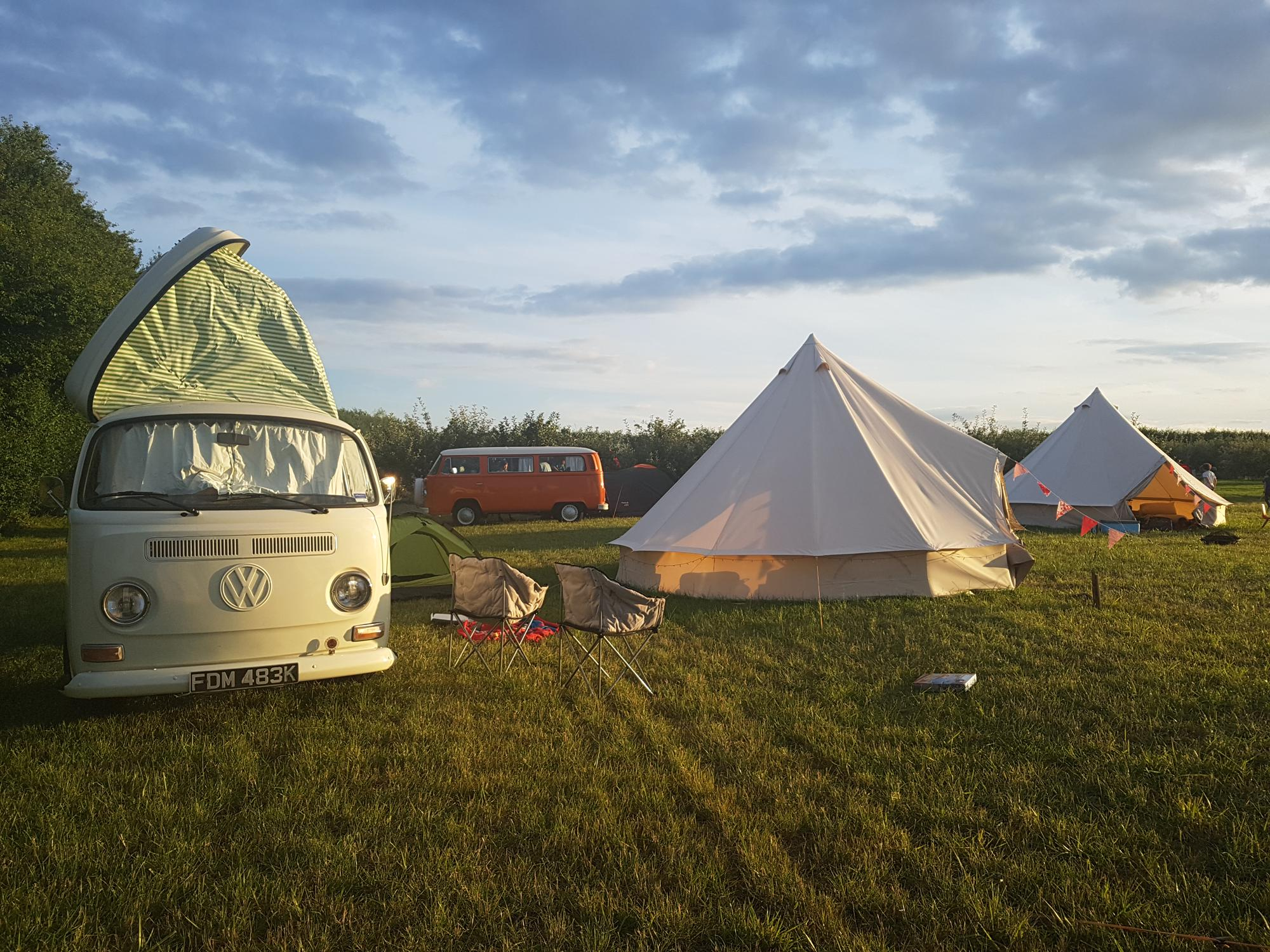 Campsites in Deal holidays at Cool Camping