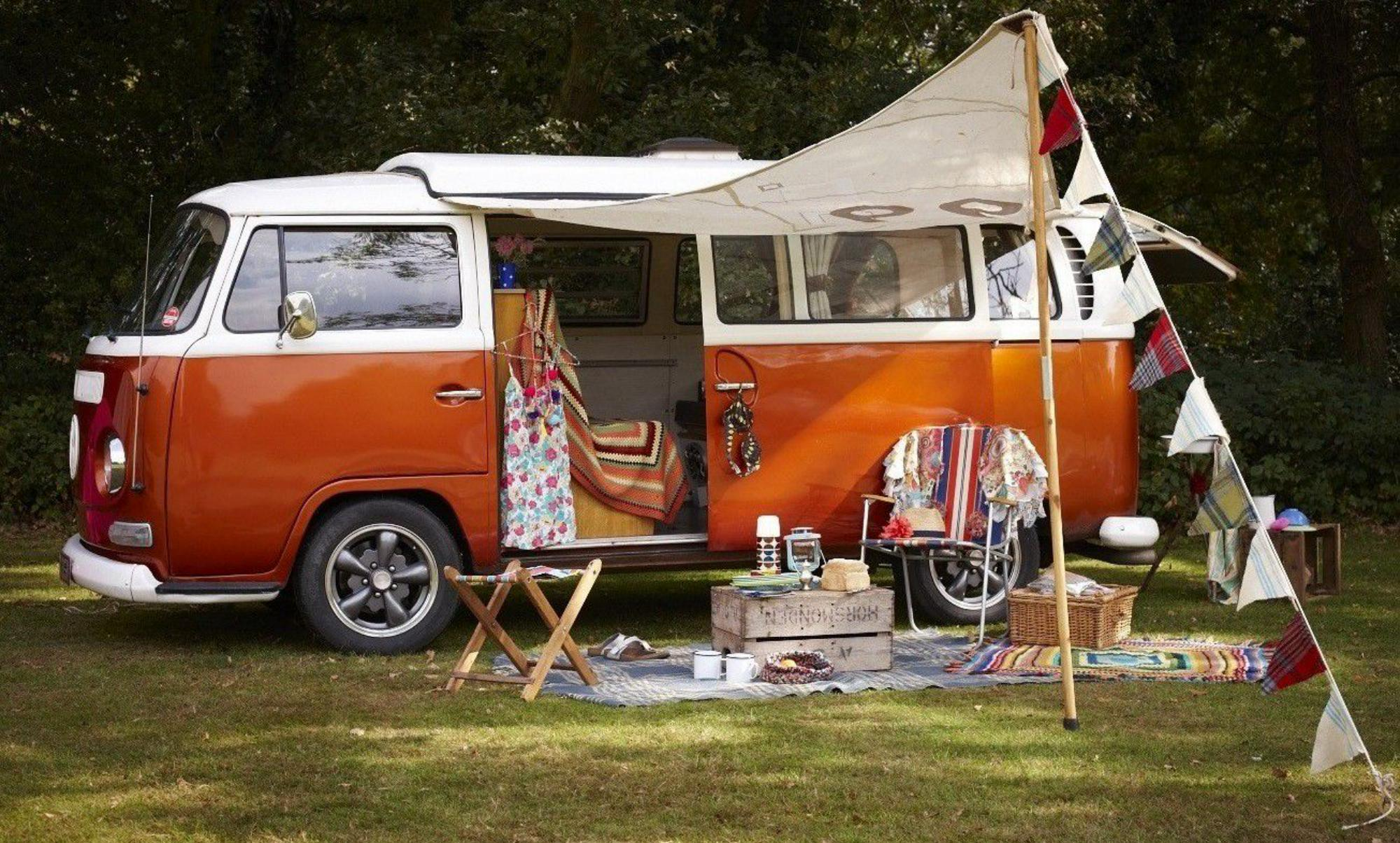 Campervan Hire in London and the Southeast of England