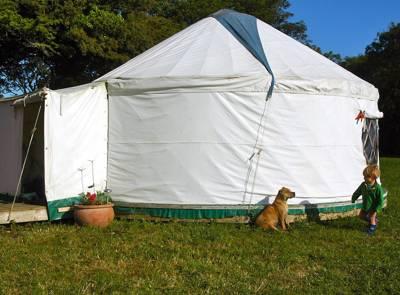 Cornish Yurts Tregeague Farm, St Martin, Helston, Cornwall TR12 6EB