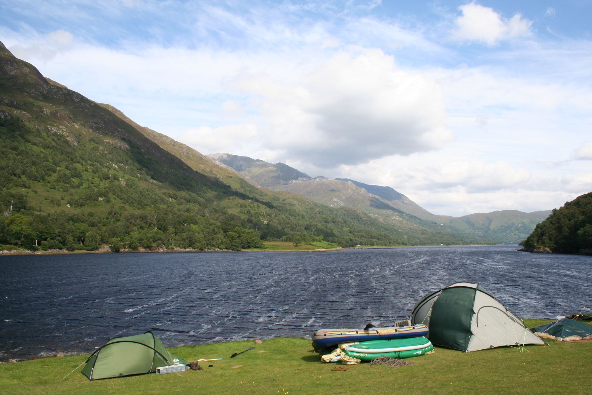 Campsites in Argyll & Bute holidays at Cool Places