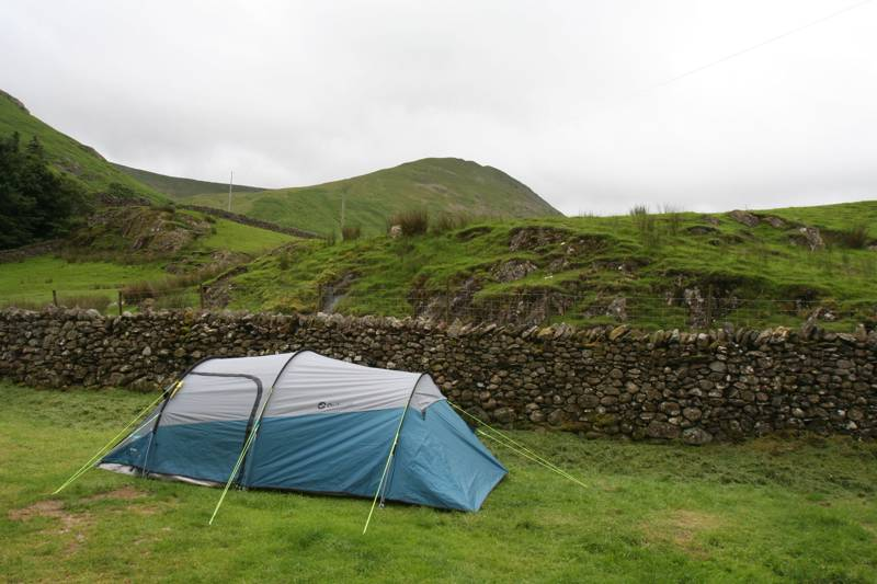 Standard Grass Tent Pitch