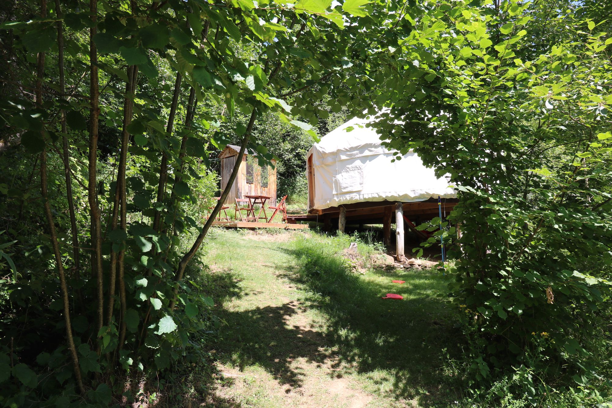 Natural heaven. This is one of the most relaxing and beautifully isolated glamping sites in central France.