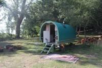 Dorset Gypsy Caravan- Green
