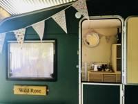 Wild Rose Vintage Caravan