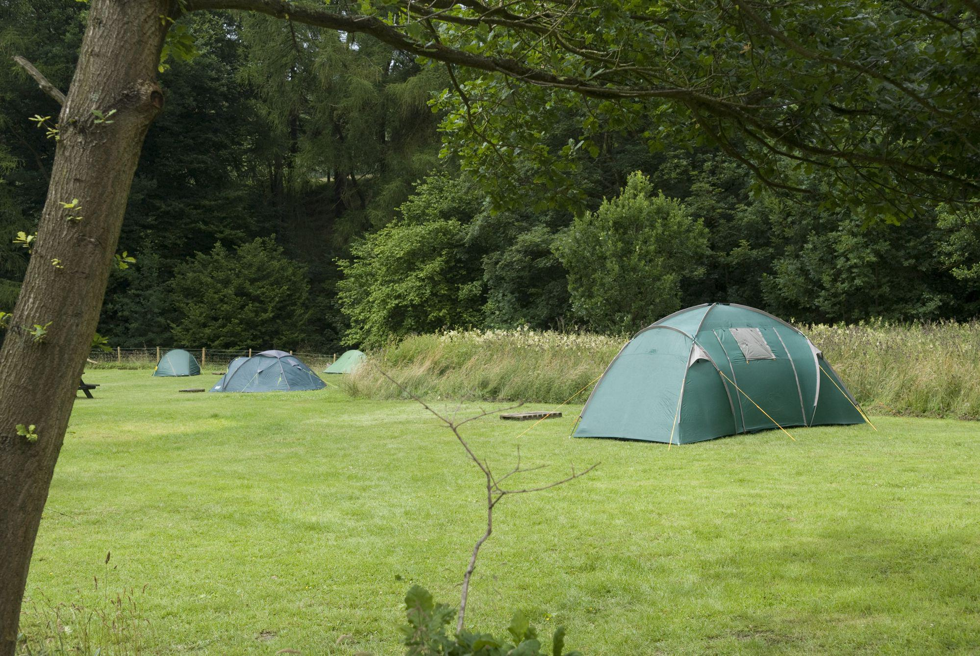 North Lees Campsite in the Peak District
