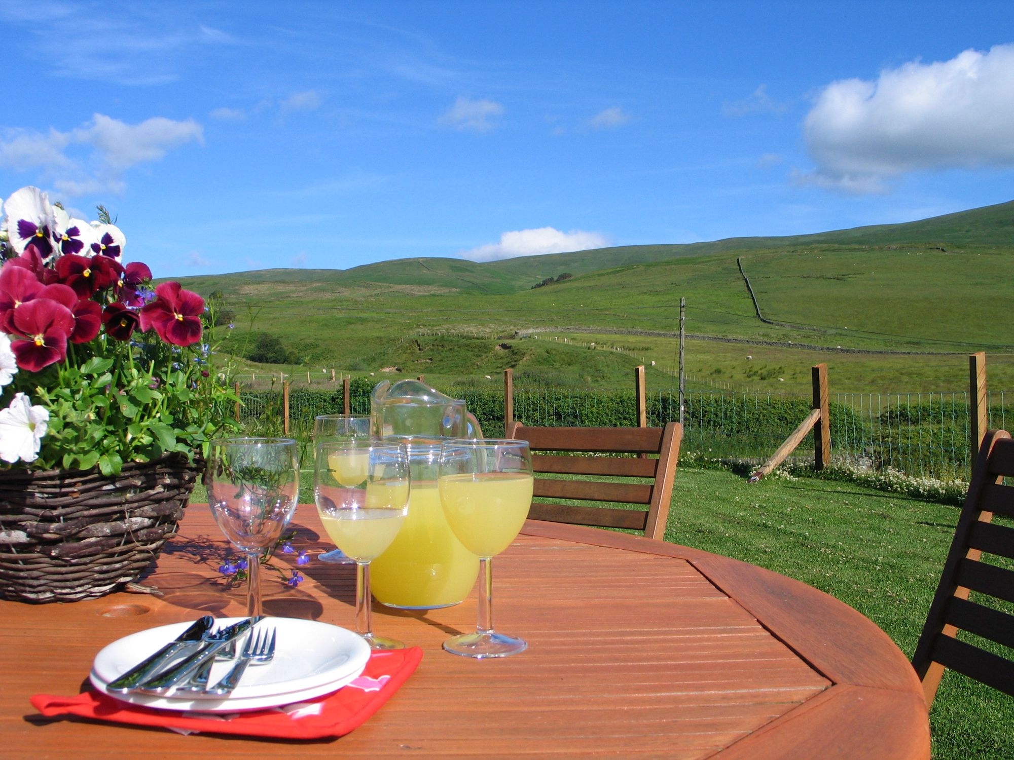 Campsites in Scottish Borders holidays at Cool Places