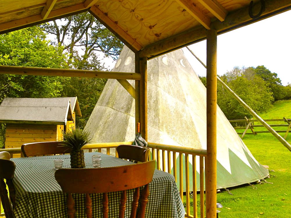 Campsites in Crickhowell holidays at Cool Places