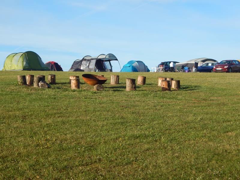 Grass pitch (Backpacker)