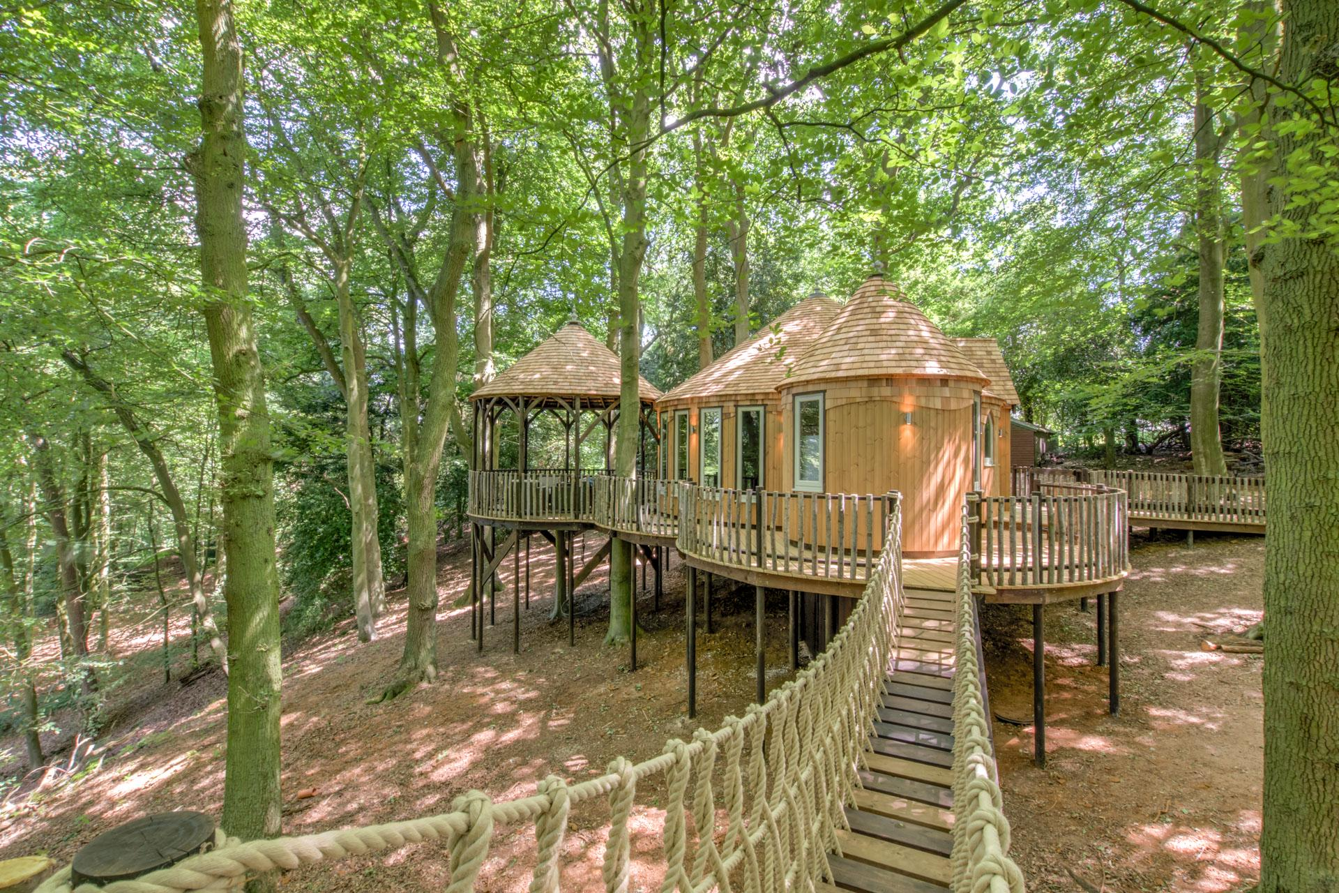 Glamping in Oxfordshire holidays at Cool Places