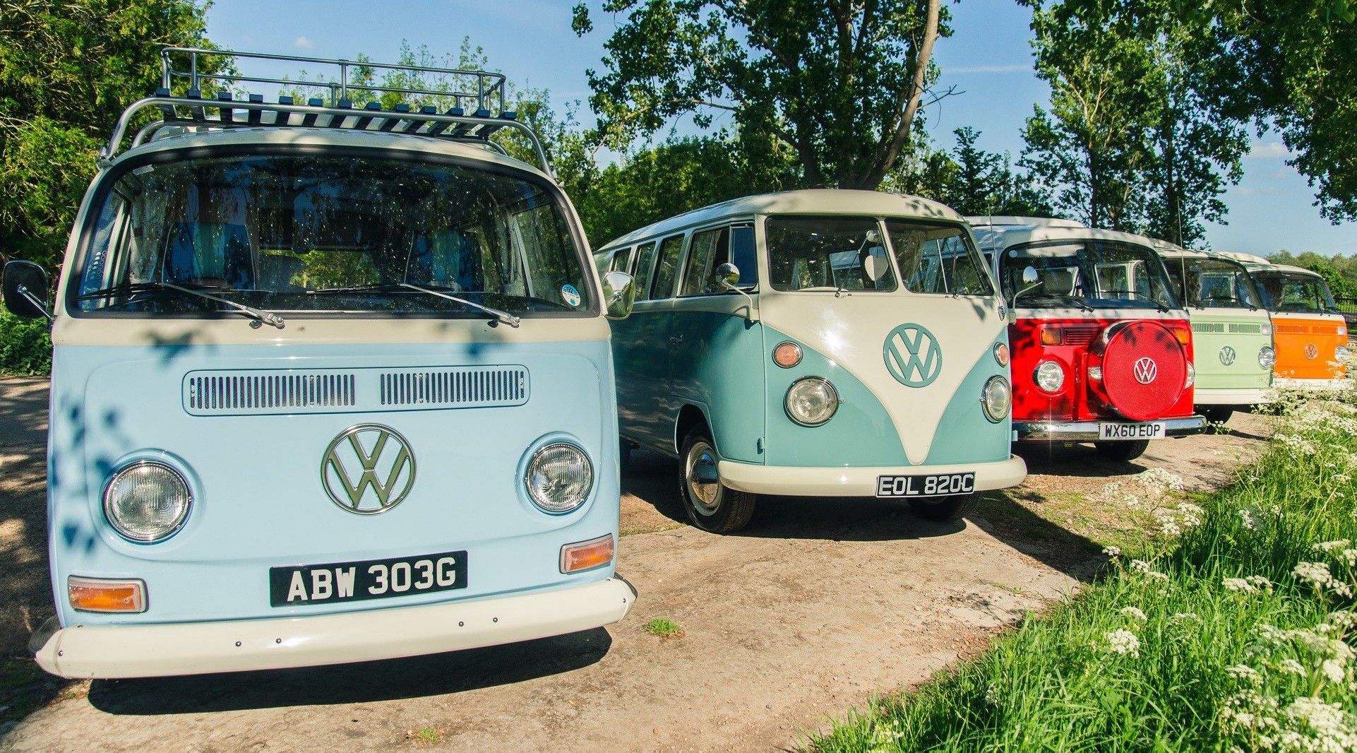 Classic Vw Campervan Hire Our Pick Of The Best Suppliers