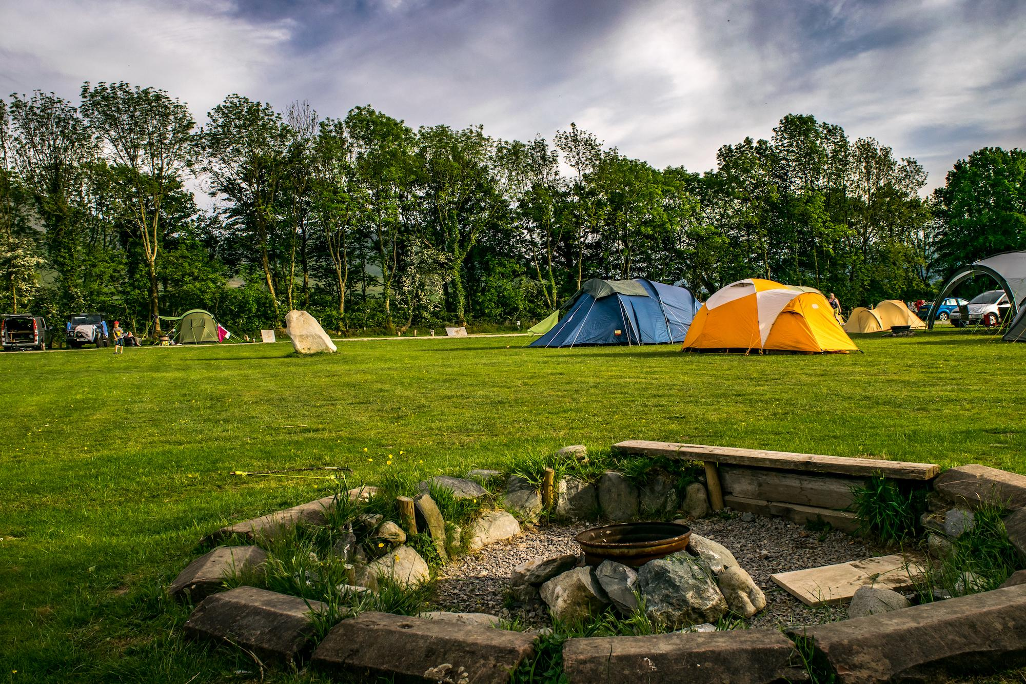 Campsites in Bassenthwaite holidays at Cool Camping