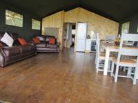 Safari tent close to some of Wales' best beaches
