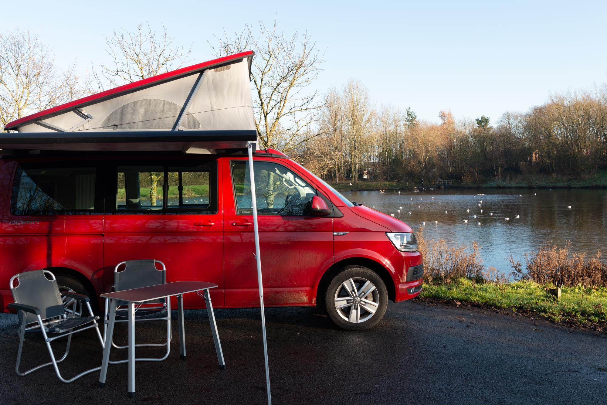 Campervans in Edinburgh holidays at Cool Camping