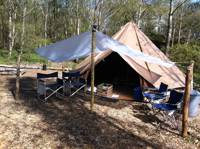 'Wild Glamping' Bell Tent
