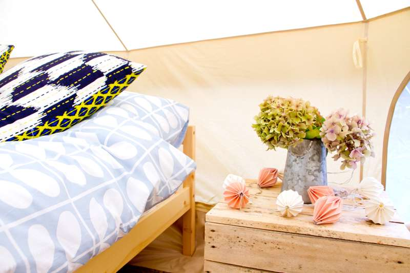 Luxury Bell Tent 4m