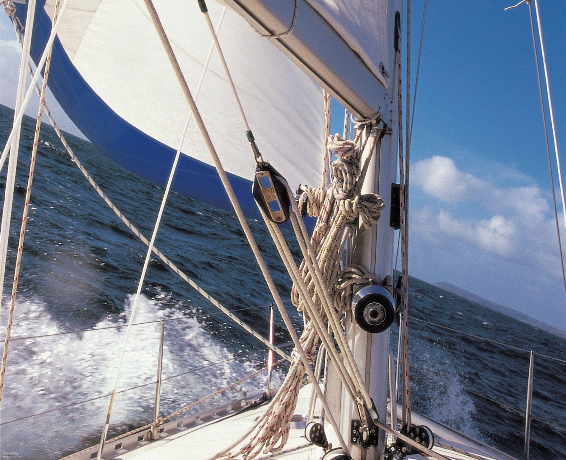 Day Sailing around Falmouth