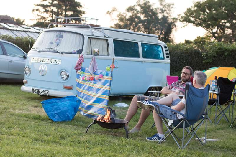 Grass Pitch - Campervan only