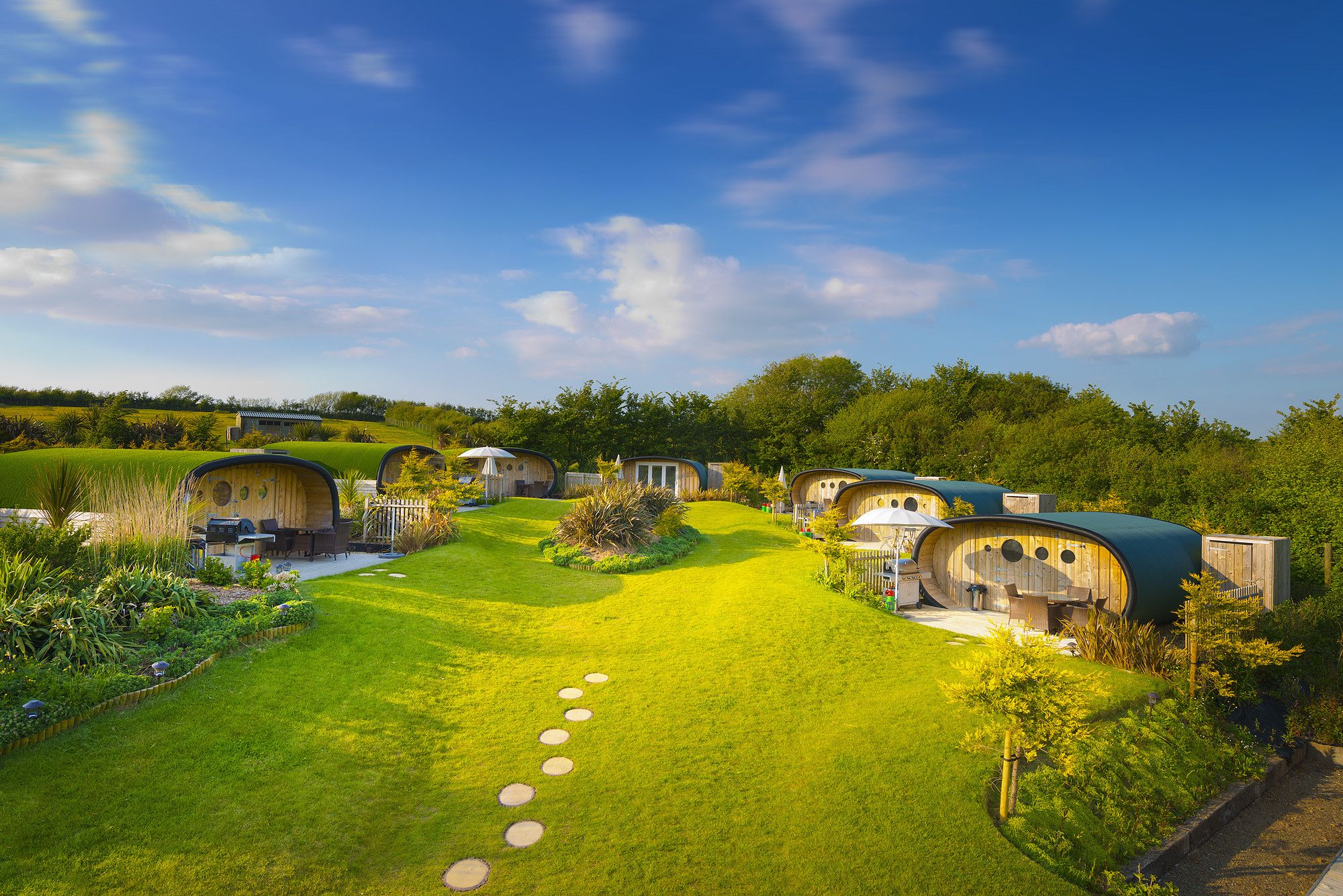 Bring your board and wetsuit—the rest is taken care of at this luxury Cornish glampsite.
