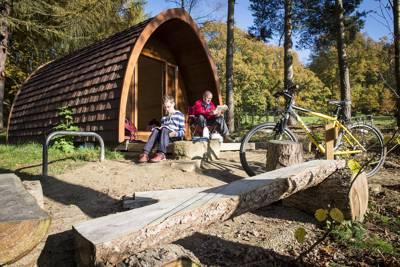 """""""Beanpod"""" family camping pod"""