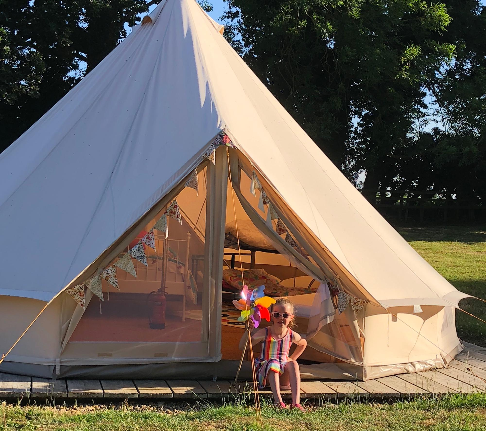 Glamping in North Walsham holidays at I Love This Campsite