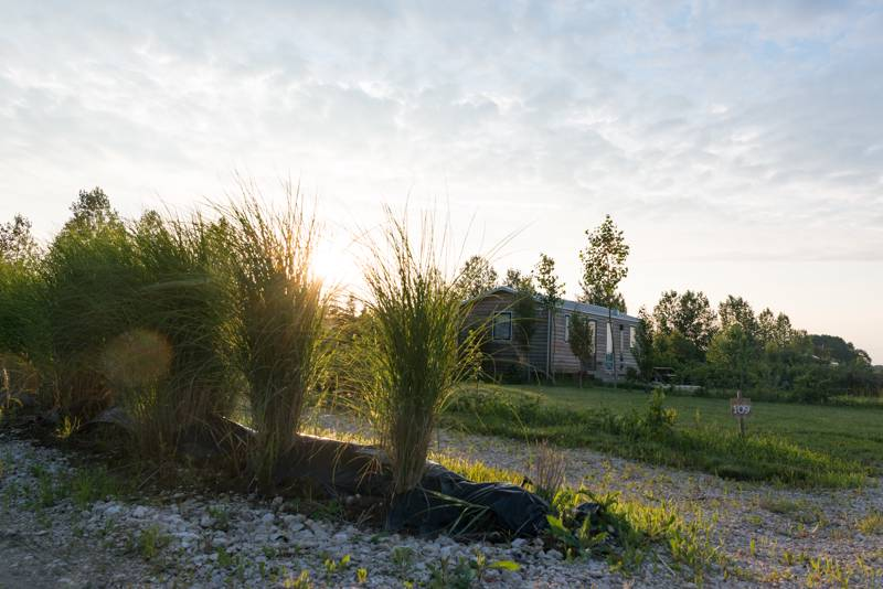 Glamping in the Loire Valley, France
