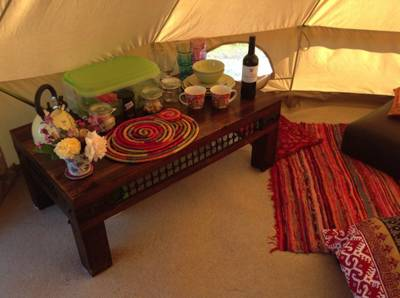 Bell tents/Canvas cottages